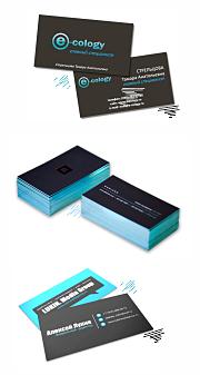 сделать макет визитки онлайн