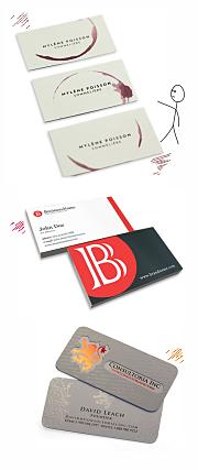 дизайн визиток в СПб