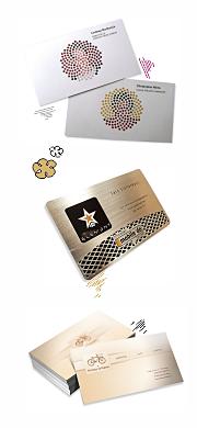 разработка дизайна визиток в СПб