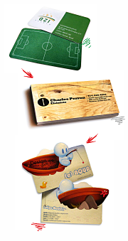 Создание дизайн макета визиток