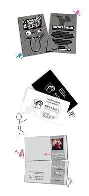Заказать дизайн макет визитки
