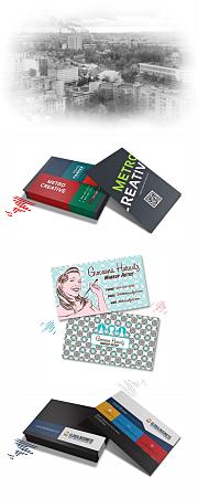 визитки на Гражданском проспекте и Академической
