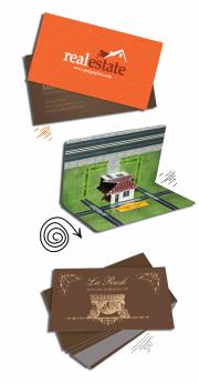 визитки агентств недвижимости