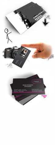 визитки фотографа